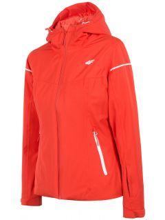 Jachetă de schi pentru femei KUDN300 - roșu