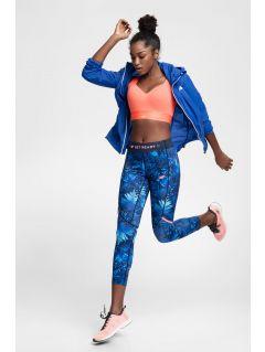 Jachetă de alergare pentru femei KUDTR101 - cobalt