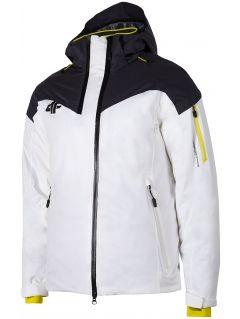 Jachetă de schi pentru bărbați KUMN152 - alb