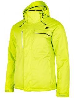 Jachetă de schi pentru bărbați KUMN253 - verde deschis