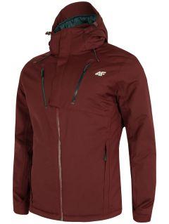 Jachetă de schi pentru bărbați KUMN254 - roșu burgund