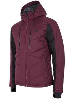 Jachetă de schi pentru bărbați KUMN256 - roșu închis
