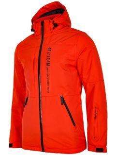 Jachetă de schi pentru bărbați KUMN552R - portocaliu
