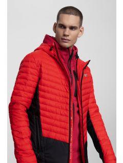 Jachetă din puf pentru bărbați KUMP202 - roșu