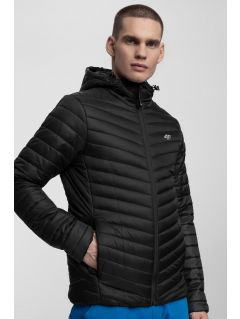 Jacheta din puf pentru bărbați KUMP301 - negru