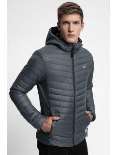 Jacheta din puf pentru bărbați KUMP301 - gri închis