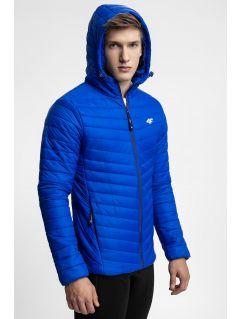 Jacheta din puf pentru bărbați KUMP301 - turcoaz