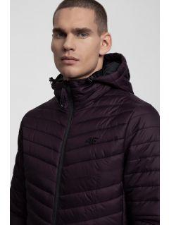 Jacheta din puf pentru bărbați KUMP301 - violet închis