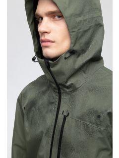 Jachetă de trekking pentru bărbați KUMT250 - kaki