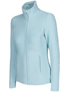 Bluza din fleece pentru femei PLD300 - mentă