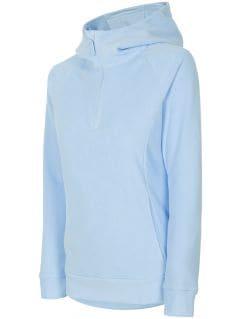 Bluza din fleece pentru femei PLD301 - albastru deschis