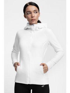 Bluza din fleece pentru femei PLD302 - alb