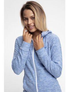 Bluza din fleece PLD302 - albastru melanj