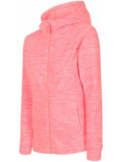 Bluza din fleece pentru femei PLD302 - somon melanj