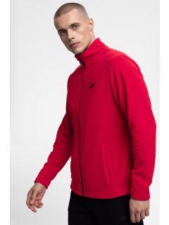 Bluza din fleece pentru barbați PLM300 - roșu