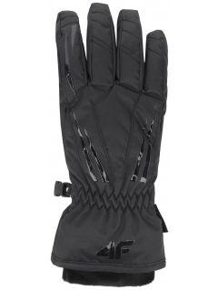 Mănuși de schi pentru femei RED350 - negru profund