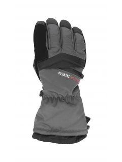 Mănuși de schi pentru bărbați REM150 - gri închis