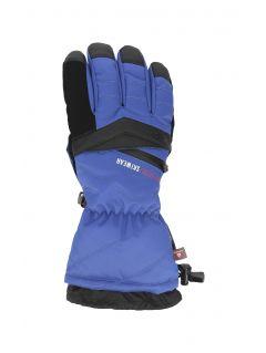 Mănuși de schi pentru bărbați REM150 - cobalt