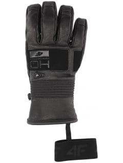 Mănuși de schi pentru bărbați REM153 - negru profund