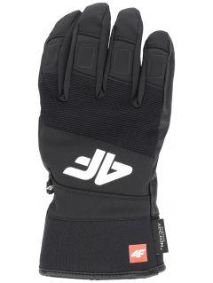 Mănuși de schi pentru bărbați REM250 - negru profund