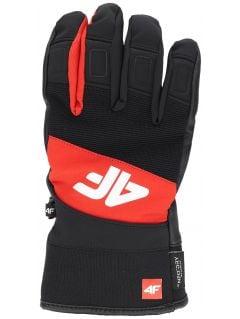Mănuși de schi pentru bărbați REM250 - roșu