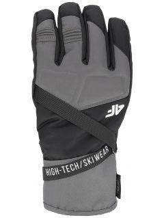 Mănuși de schi pentru bărbați REM251 - negru profund