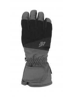 Mănuși de schi pentru bărbați REM350 - negru profund