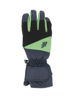 Mănuși de schi pentru bărbați REM350 - bleumarin