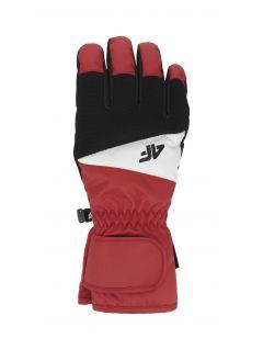 Mănuși de schi pentru bărbați REM350 - roșu