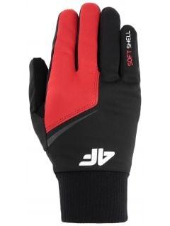 Mănuși softshell unisex REU107 - roșu