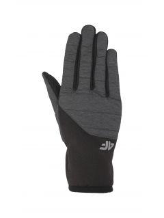 Mănuși de sport unisex REU201 - gri mediu