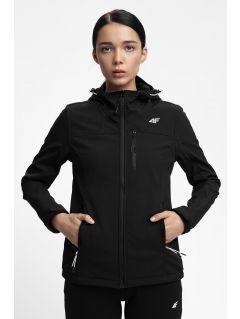 Jacheta softshell pentru femei SFD215 - negru profund