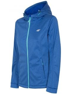 Jacheta softshell pentru femei SFD300 - cobalt melanj