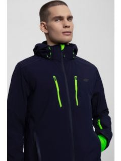 Jacheta softshell pentru bărbați SFM200 - bleumarin închis