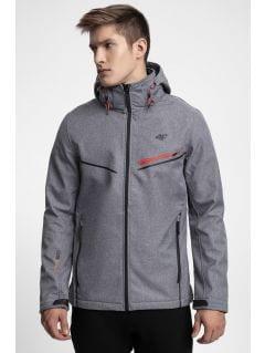 Jachetă softshell pentru bărbați SFM206 - gri melanj