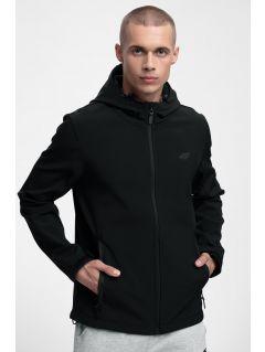 Jacheta softshell SFM301 pentru bărbați - negru profund