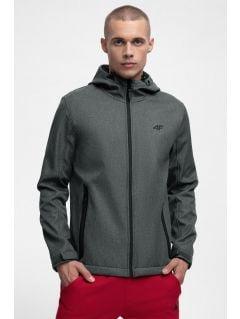 Jacheta softshell SFM301 pentru bărbați - antracit melanj