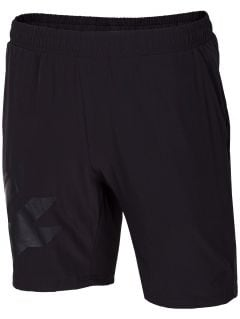 Pantaloni scurți de antrenament pentru bărbați SKMF150 - negru profund