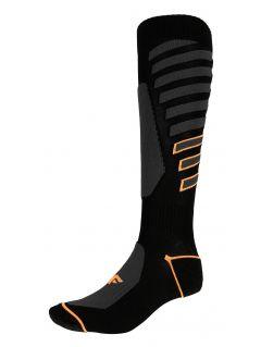 Șosete de schi pentru bărbați SOMN348 - negru profund