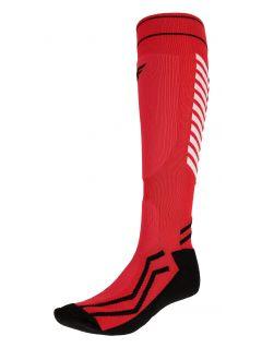 Șosete de schi petru bărbați SOMN350 - roșu
