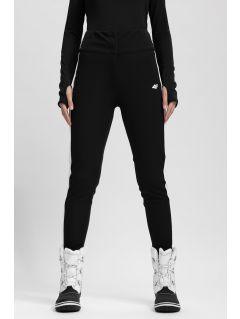 Pantaloni de schi pentru femei SPDN101 - negru profund