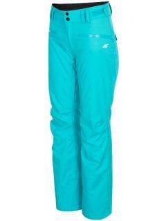 Pantaloni de schi pentru femei SPDN270 - turcoaz