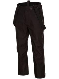 Pantaloni de schi pentru bărbați SPMN152 - negru profund