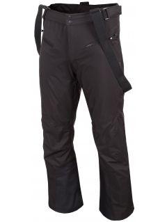 Pantaloni de schi pentru bărbați SPMN251 - negru profund