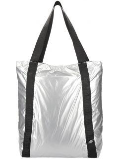 Geantă de umăr pentru femei TPU202 - argintiu
