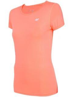 Tricou de antrenament pentru femei TSDF206 - coral neon
