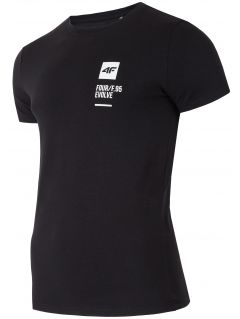 Tricou pentru bărbați TSM207 - negru profund