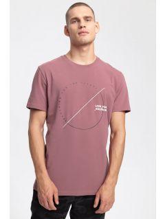Tricou pentru bărbați TSM269 - roșu închis