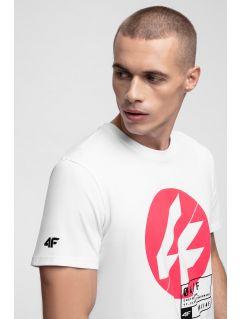 Tricou pentru bărbați TSM285 - alb