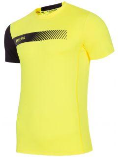 Tricou de antrenament pentru bărbați TSMF156 - galben